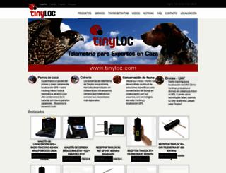 tinyloc.com screenshot