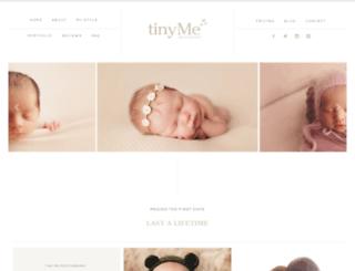 tinymephotography.com screenshot