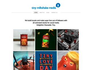 tinymilkshakemedia.com screenshot