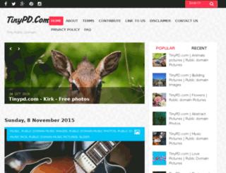 tinypd.com screenshot