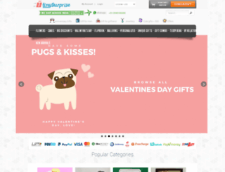 tinysurprise.com screenshot