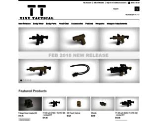tinytactical.com screenshot