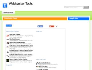 tinywebtool.com screenshot