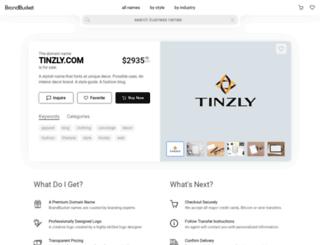 tinzly.com screenshot