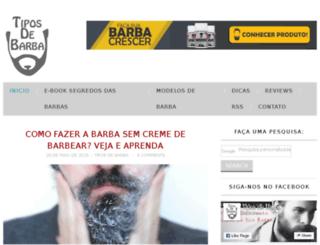 tiposdebarba.com.br screenshot