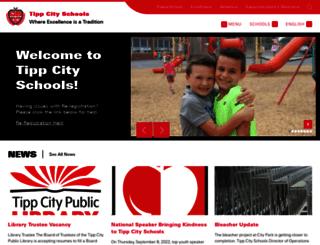 tippcityschools.com screenshot