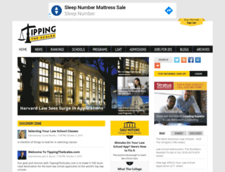 tippingthescales.com screenshot