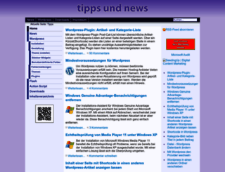 tipps.1st-tec.de screenshot