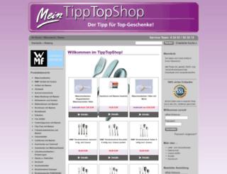 tipptopshop.com screenshot
