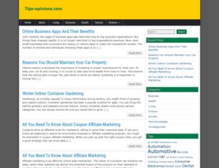 tips-opinions.com screenshot
