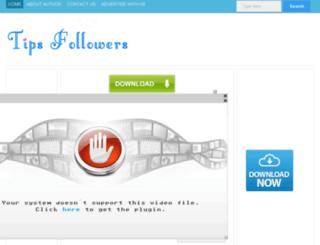 tipsfollowers.blogspot.in screenshot