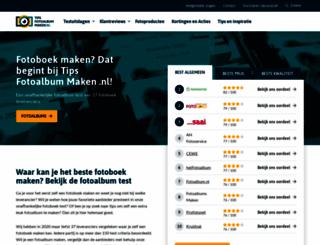tipsfotoalbummaken.nl screenshot
