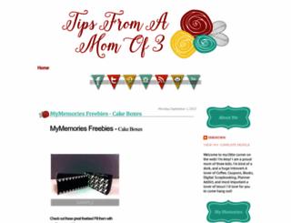 tipsfromamomof3.blogspot.com screenshot