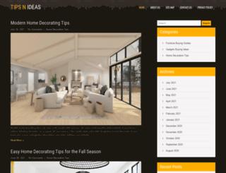 tipsnideas.com screenshot