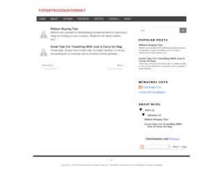tipsntricksinternet.blogspot.com screenshot