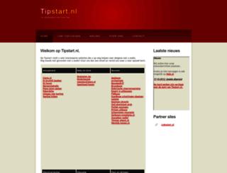 tipstart.nl screenshot