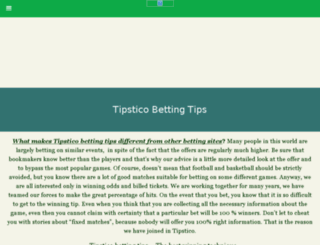 tipstico.com screenshot