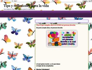 tipsyreflexionesparalavida.blogspot.com screenshot