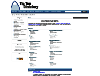tiptopdirectory.com screenshot