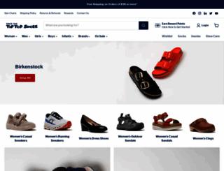 tiptopshoes.com screenshot