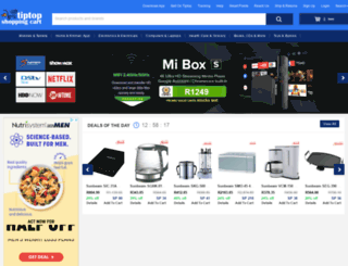 tiptopshoppingcart.com screenshot