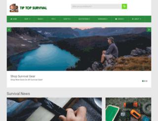 tiptopsurvival.com screenshot