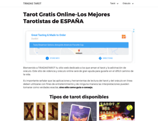 tiradastarot.es screenshot