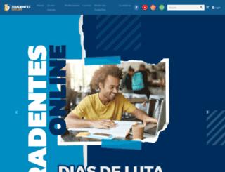 tiradentesonline.com.br screenshot