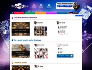 tiragecarte.fr screenshot
