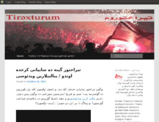 tiraxturum.blog.com screenshot