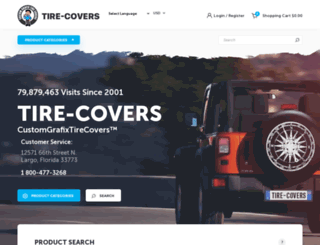 tire-covers.com screenshot