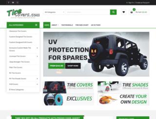 tirecovers.com screenshot