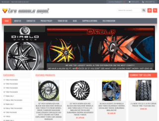 tirewheelsdepot.com screenshot