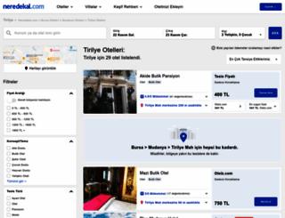 tirilye.neredekal.com screenshot