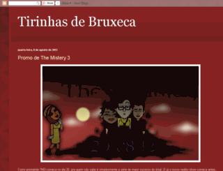 tirinhasdebruxeca.blogspot.com.br screenshot