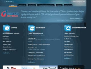 tirupatiuniversal.com screenshot