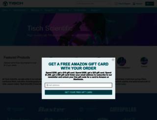 tischinternational.com screenshot