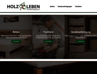 tischlerei-weyrauch.de screenshot