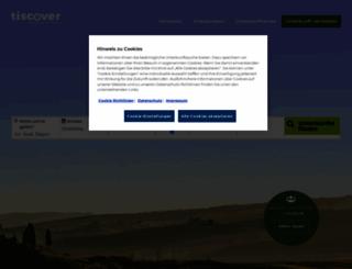 tiscover.com screenshot
