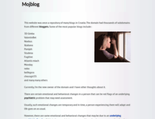 tisina.mojblog.hr screenshot