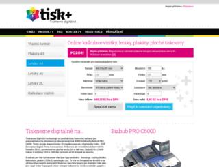 tisk-digitalni.cz screenshot