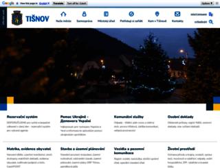 tisnov.cz screenshot
