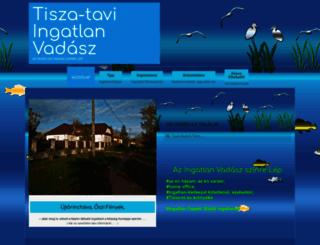 tisza-tavi.hu screenshot