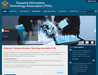 tita.or.tz screenshot
