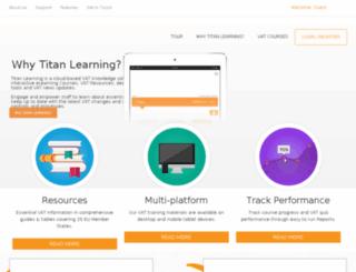 titan-learning.com screenshot