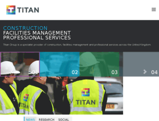 titan-maintenance.com screenshot