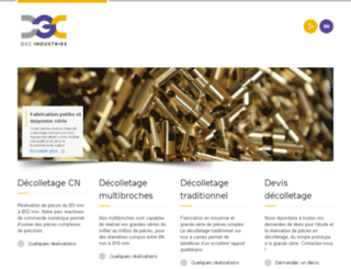 titane-production.decolletage.net screenshot