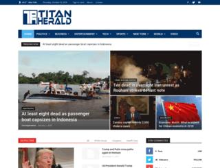 titanherald.com screenshot