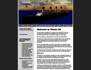 titanic3d.com screenshot