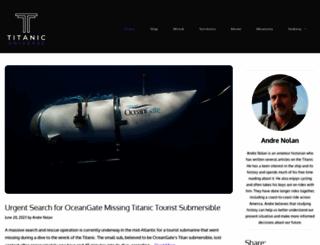 titanicuniverse.com screenshot
